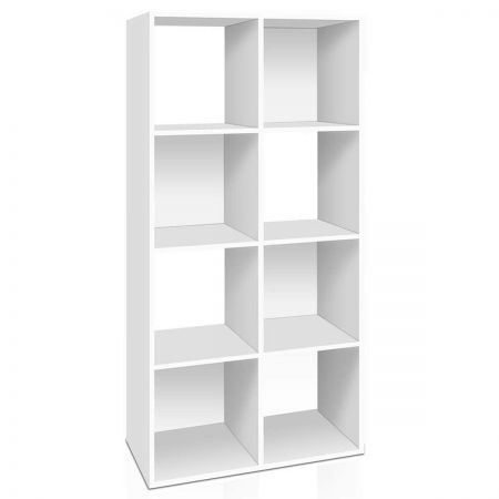 8-cube Display Shelf with Wall Mount Hardware