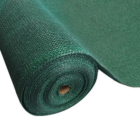 Instahut 70% Sun Shade Cloth Shadecloth Sail Roll Mesh Outdoor 175gsm 3.66x20m Green