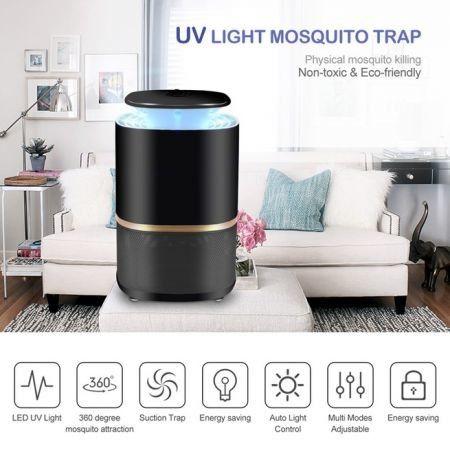 Photocatalyst Mosquito killer lamp Pest Repellent Electronic Pest Control  UV Light