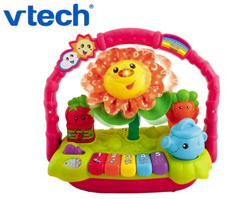 Vtech Baby Groove and Grow Garden Music and Lights Dancing Plant with Keyboard