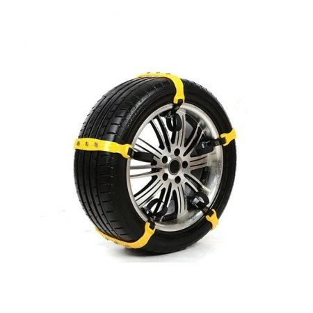 10pcs/lot 37x4.7cm Car Tire Snow Chains Beef Tendon VAN Wheel Tyre Anti-skid TPU Chains