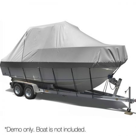 Polyester Boat Cover Fits 25ft-27ft Length Boats