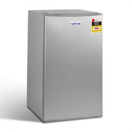 95L Bar Fridge with 6 Adjustable Temperature Levels - White
