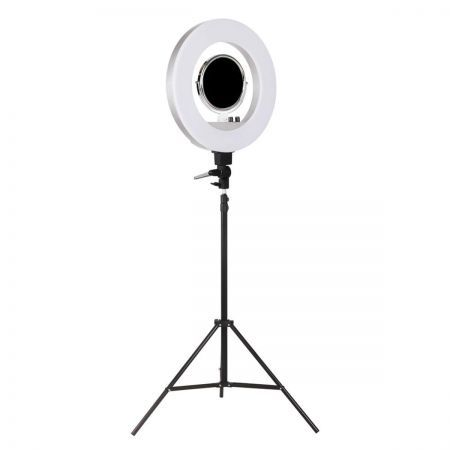 5800 Lumens Ring Light with Stand - Silver
