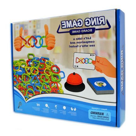 Ring Board Game Puzzle Logical Hinking Games