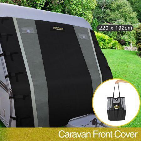 Caravan Front Window Cover Waterproof Towing Protection