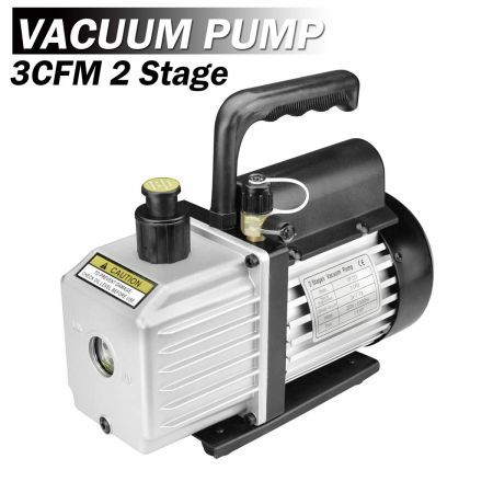 1/3HP 3CFM 2 Stages Refrigeration Vacuum Pump Air Conditioning