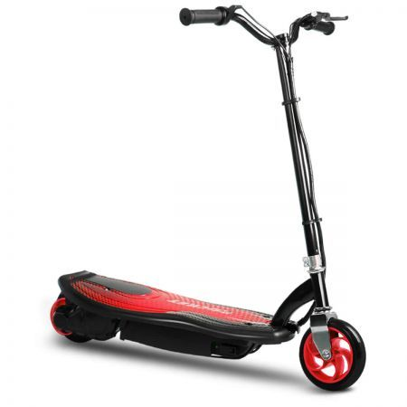 Kids 140W Electric Ride-On Scooter - Red