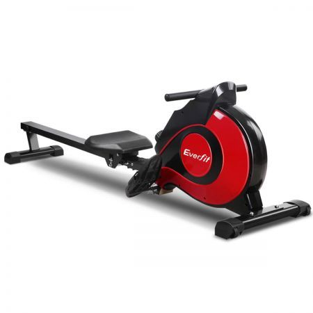 Everfit Magnetic Flywheel Rowing Machine with 10 Levels of Manual Resistance