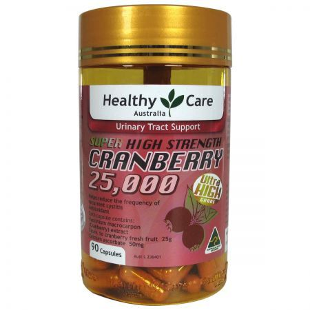 Healthy Care Super Cranberry 25000 90 Capsules