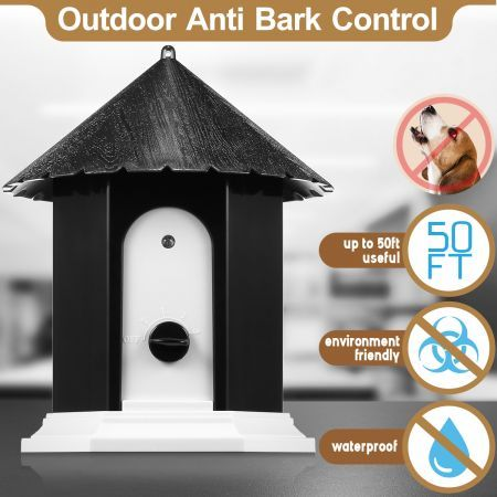 Ultrasonic Dog Puppy Stop Barking Outdoor Anti Bark Control System Device