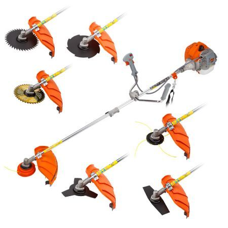 MTM 62cc 7-in-1 Petrol Brush Cutter Pole Saws