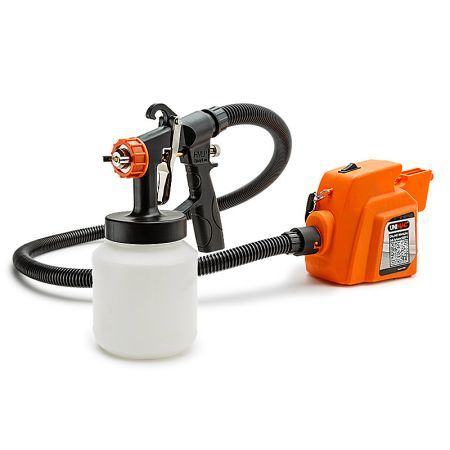 Unimac HVLP Paint Sprayer Gun 3-Way Nozzle DIY Spray Station 450W