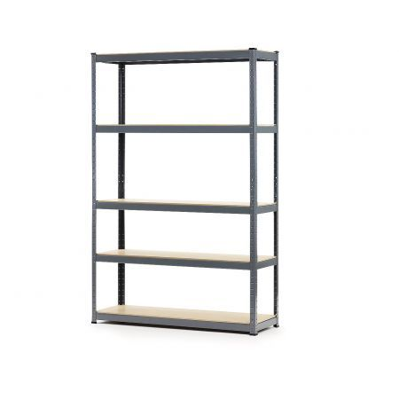 Heavy Duty 5 Shelf Storage Unit - 180 x 90 x 40cm