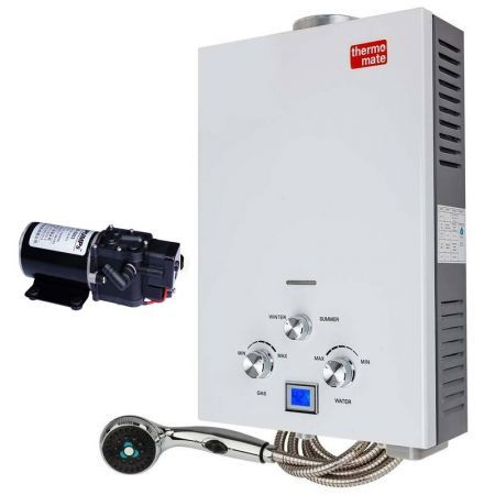 Portable Gas Hot Water Heater with Pump - THM-12