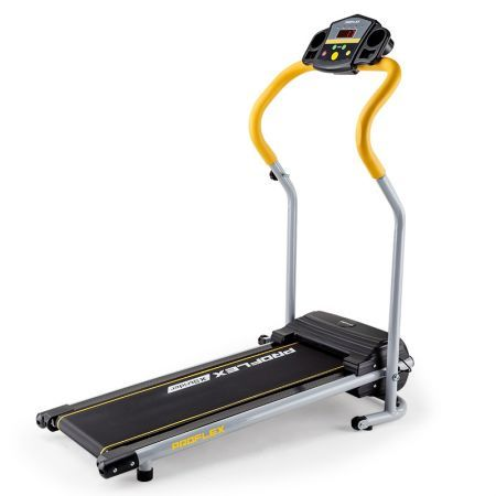 X-Strider Electric Treadmill - Black/Silver/Yellow