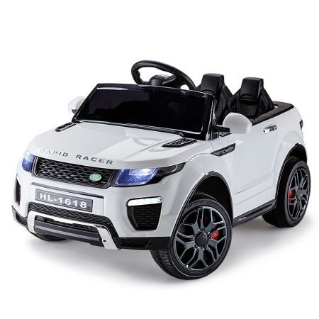 Range Rover Inspired 12V Kids Electric Ride On Car Evoque - White
