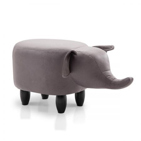 Kids Animal Stool with Capacity 150kg - Grey
