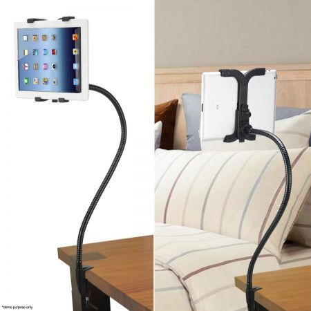 360 Degree Rotating Tablet iPad Stand Holder Bed Desk Mount