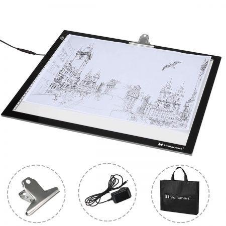 A2 LED Tracing Light Box Stencil Drawing Board Pattern Art Design Pad