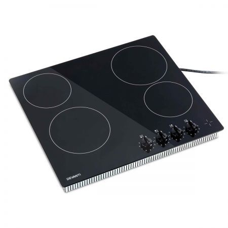 6000W Four Burner Ceramic Cooktop