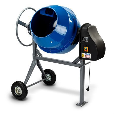 Baumr-AG 135L Portable Electric Cement Mixer