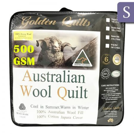 Golden Quilts Classic 500Gsm - Single
