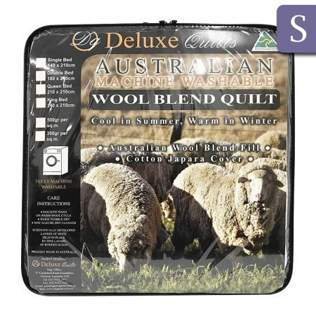 Australian Wool Quilt Wool Blend - Single