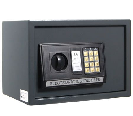 Small Personal Electronic Safe Security Box With Digital