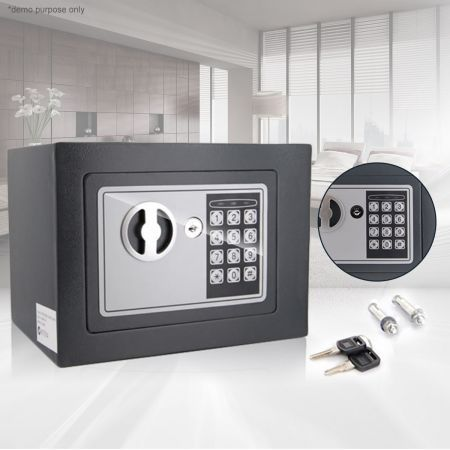 Personal Electronic Safe Security Box With Digital Code