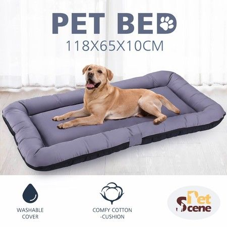 Pet Bed Mattress Dog Cat Pad Mat Summer Cushion Lining Washable XXL