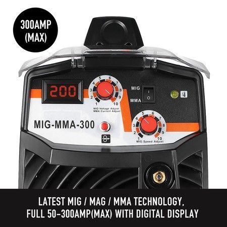New ARC 300Amp Inverter Welder MIG / MAG / MMA Welding Machine DC