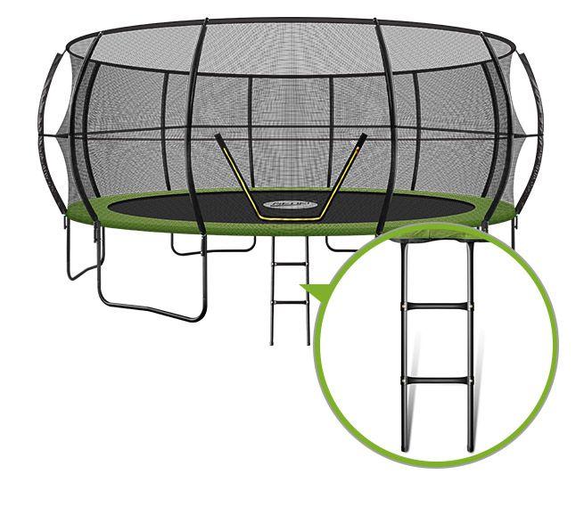 Genki 16ft Round Kids Trampoline Exercise Safety Enclosure