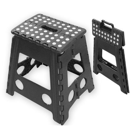 Super Portable Foldable Plastic Step Stool Squirreltailoven Fun Painted Chair Ideas Images Squirreltailovenorg