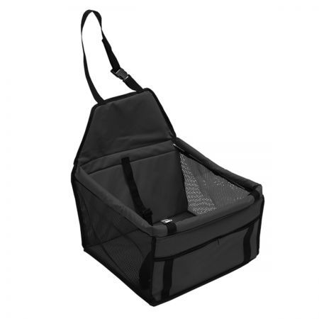 Pet Car Booster Seat Puppy Cat Dog Auto Carrier - Black
