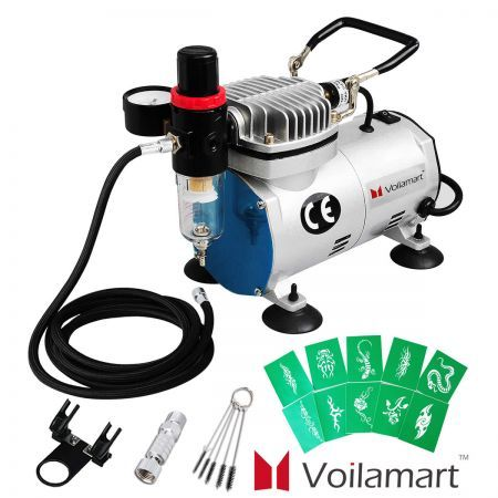 Airbrush Compressor Kit Air Brush Hose Filter