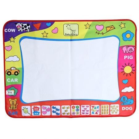 Children Doodle Drawing Mat + Magic Pen Educational Toy