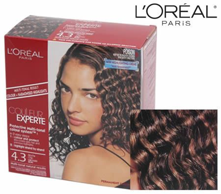 L'Oreal Paris Couleur Experte Protective Multi Tonal Hair Colour + Harmonised Hightlights System - 4.3 Mocha Chip Dark Golden Brown