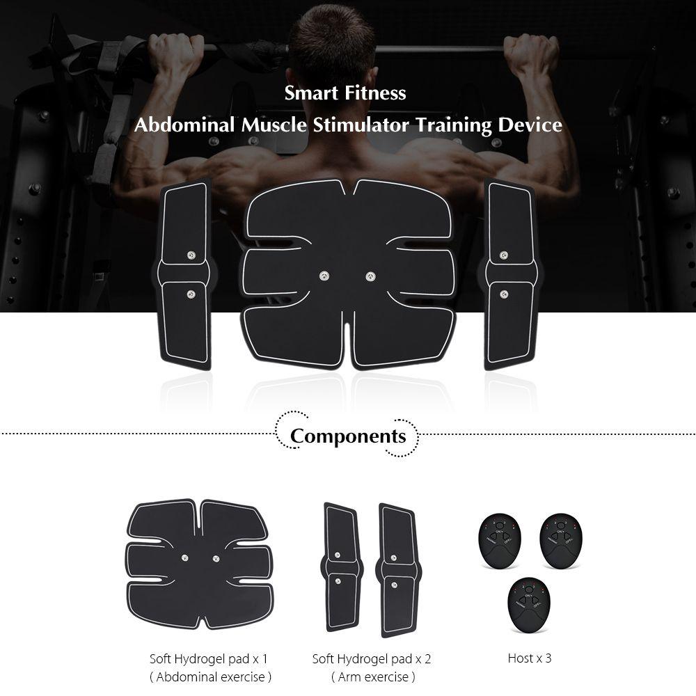 Smart Fitness Abdominal Muscle Stimulator Training Device