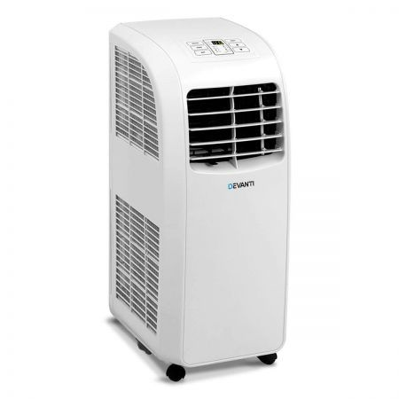 Devanti Portable Mobile Air Conditioner 13000BTU - White