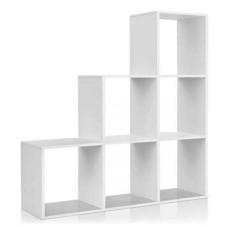 Artiss 6 Cube Display Shelf Bookcase Unit - White