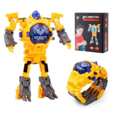 Kids Transformers Rescue Bots Toys 2 in 1 Digital Robot Watch