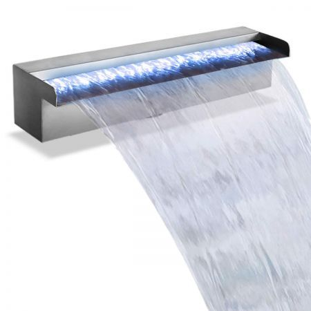 LED Light Water Blade Feature Waterfall 45cm