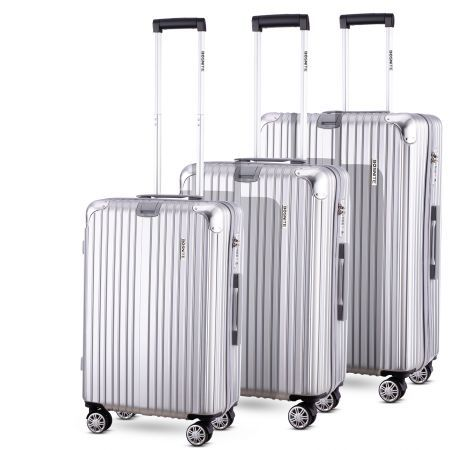 3pc Luggage Suitcase Trolley Set TSA Travel Carry On Bag Hard Case Lightweight I