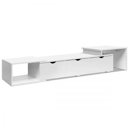 Lowline TV Entertainment Cabinet - White