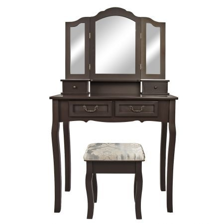 Dressing Table 4 Drawers 3 Mirrors - Diana Rown