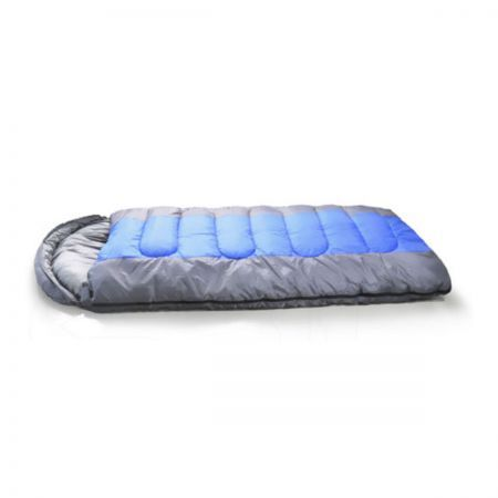 Thermal Single Outdoor Camping Sleeping Bag - Blue