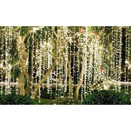 LED Curtain Lights Indoor Outdoor 6X3M (600LED)