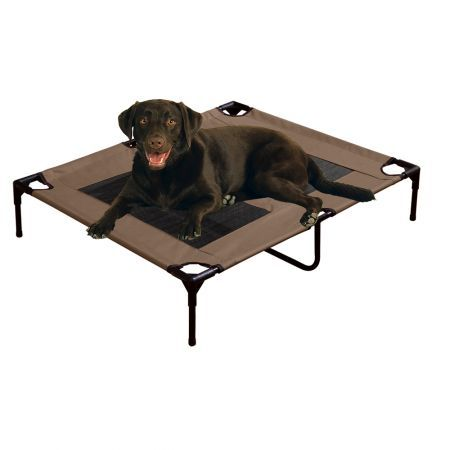 Pawz Heavy Duty Pet Bed Trampoline Large - Tan