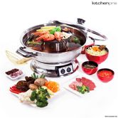 Maxim Kitchenpro 2000w Electric Steamboat Hot Pot And